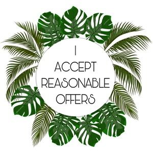 Accepting reasonable offers! 🌿📦